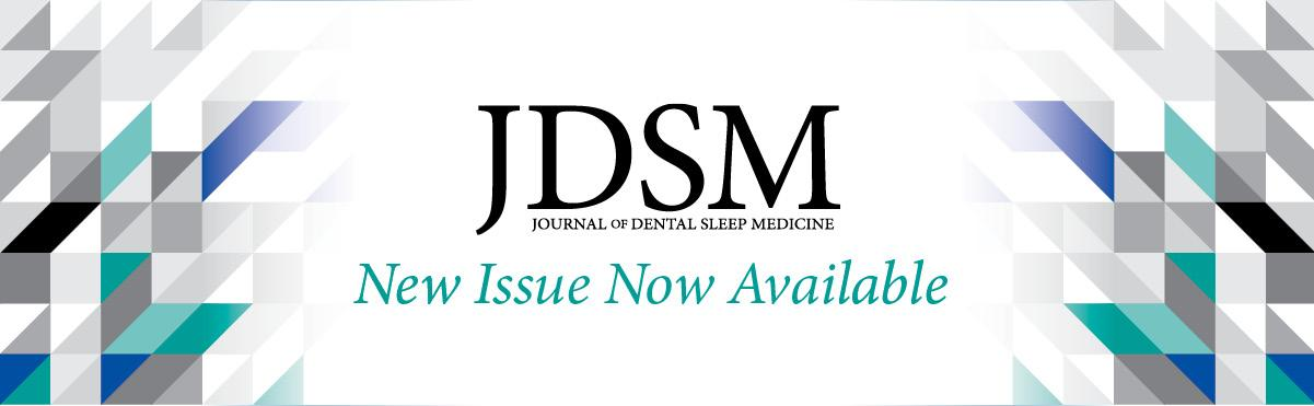A new issue of JDSM is now available