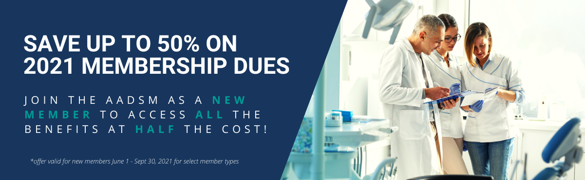 Up to 50% off 2021 membership dues